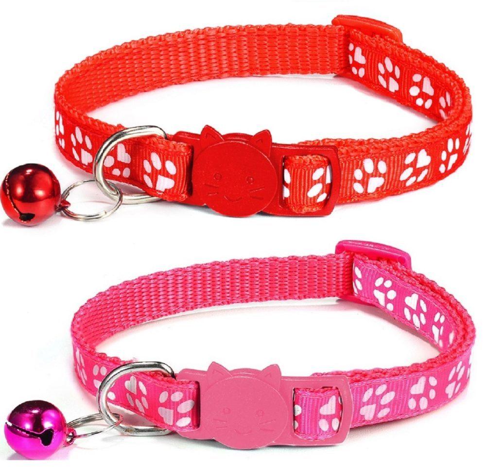 Cat-Collars-Red-Rose