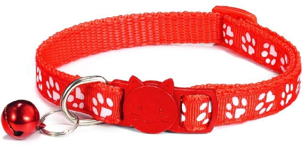 Cat-Collar-Red
