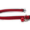 Red Velvet Kitten Collar