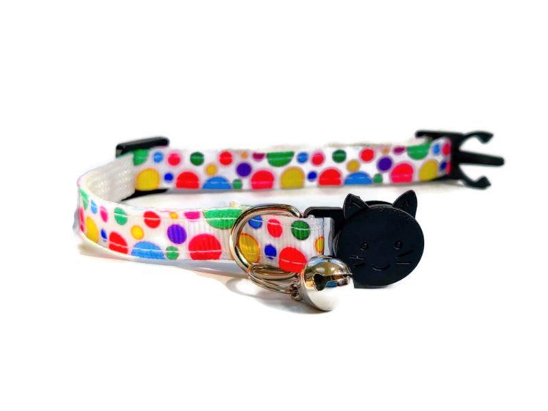 Multi Colour Polka Dot Collar