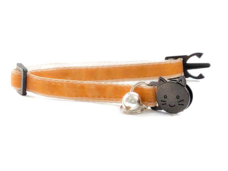Light Brown Soft Velvet Collar