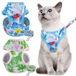 Cat Harness – Blue Floral