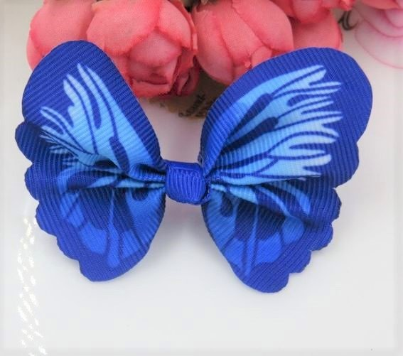 Blue Butterfly Cat Collar Accessories