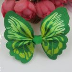 Cat / Kitten Collar Butterfly Accessory (Green)