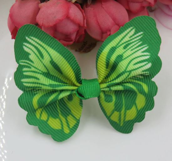 Green Butterfly Cat Collar Accessories