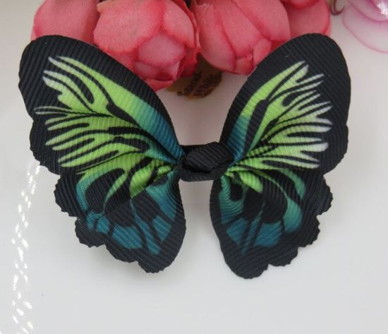 Navy Blue Butterfly Cat Collar Accessories