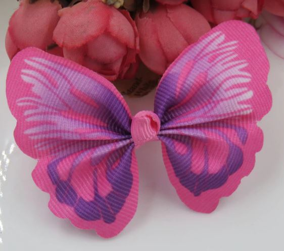 Cat / Kitten Collar Butterfly Accessory (Pink)