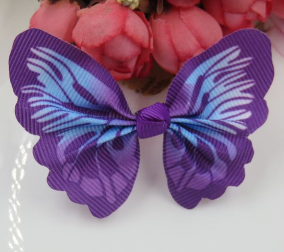 Cat / Kitten Collar Butterfly Accessory (Purple)