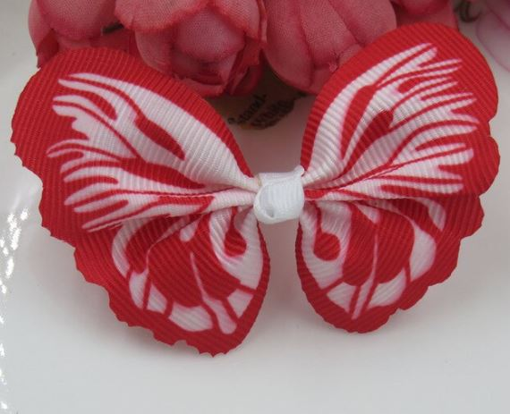 Red Butterfly Cat Collar Accessories