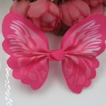Cat / Kitten Collar Butterfly Accessory (Rose)