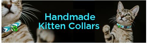 Handmade Kitten Collars