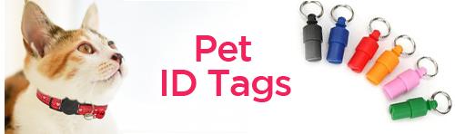 Pet ID Tags Tab