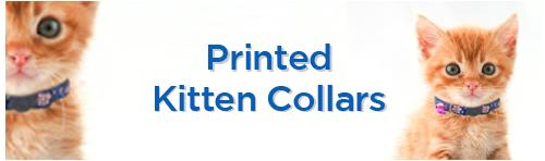 Printed Kitten Collars