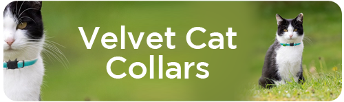 Velvet Cat Collars Tab