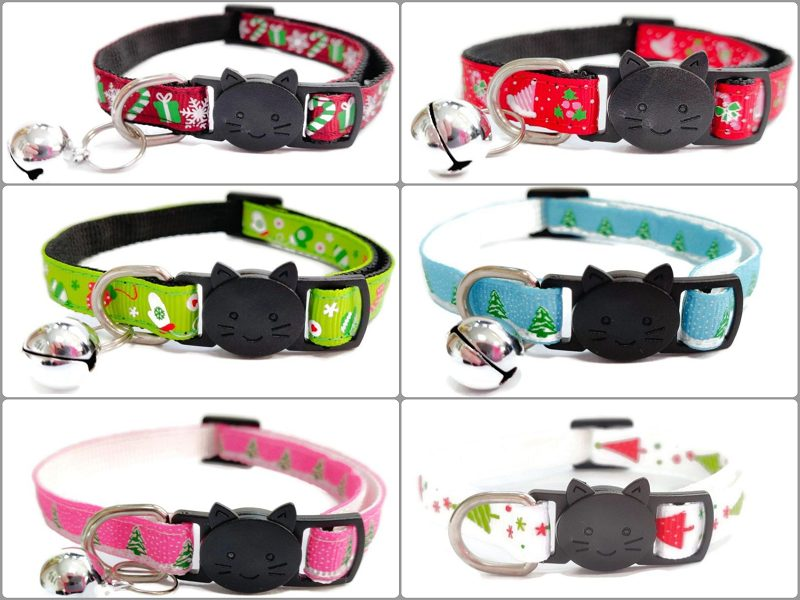 Christmas Cat Collars – Multi Buy Listing