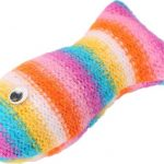 Rainbow Fish – Soft Plush Cat Toy