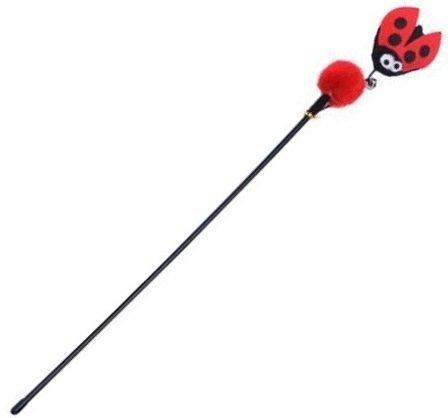 Cat Wands & Teasers – Red Ladybird