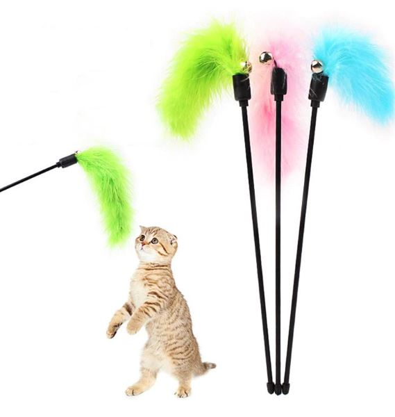 Cat Wands & Teasers – Feather & Bell