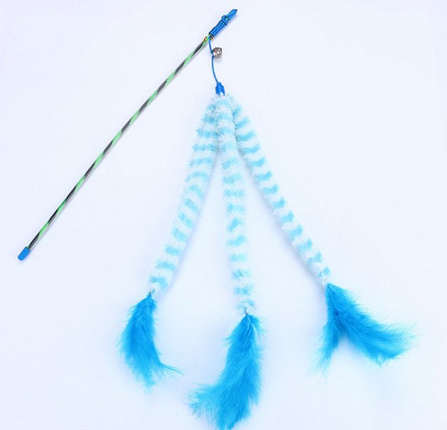 Blue Stripe with Bell & Feather – ...