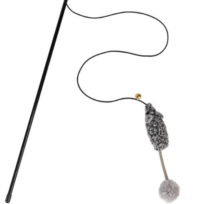 Grey Mouse with Long Tail – Wands &#038...