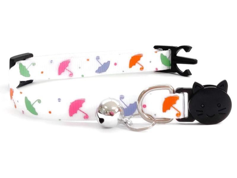 Umbrella Print Kitten Collar