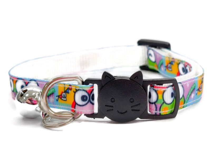 Cartoon Design Cat Collar