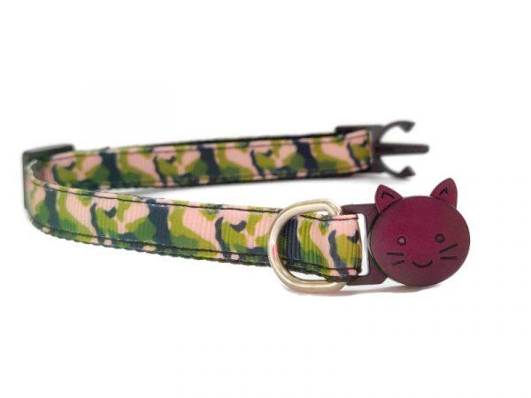 Camouflage Army Print Kitten Collar