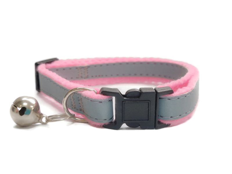 Super Soft Cat Collars, Pink