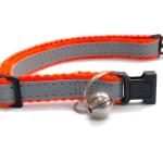 Super Soft Cat Collars, Orange