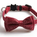 Luxury Red Diamante with Bow Cat Collar
