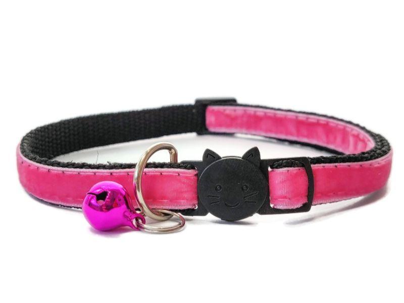 Rose Velvet Cat Collar
