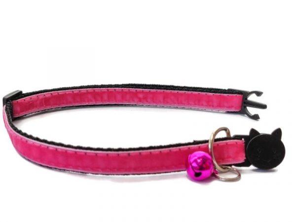 Rose Velvet Kitten Collar