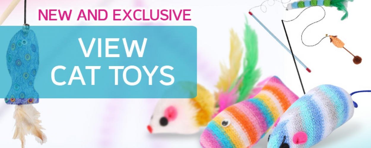 Slider – Cat Toys (New & Exclusive)