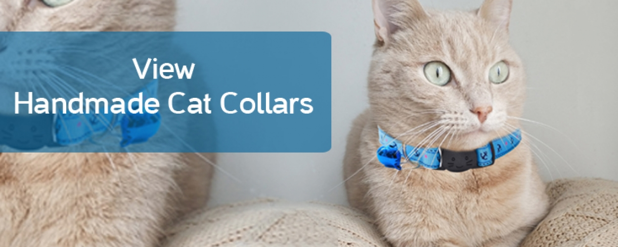 Handmade Cat Collars