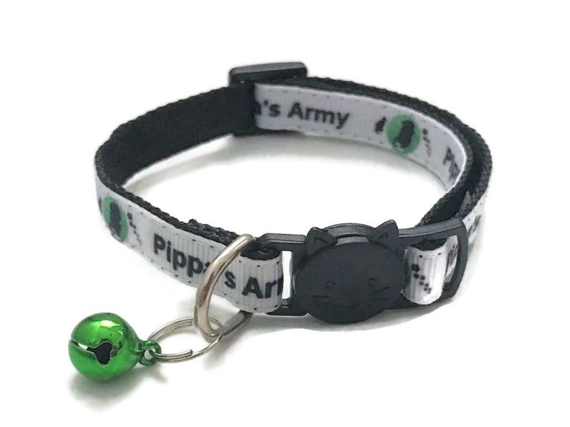 Pippa's Army Lost & Found Pets Cat Collar