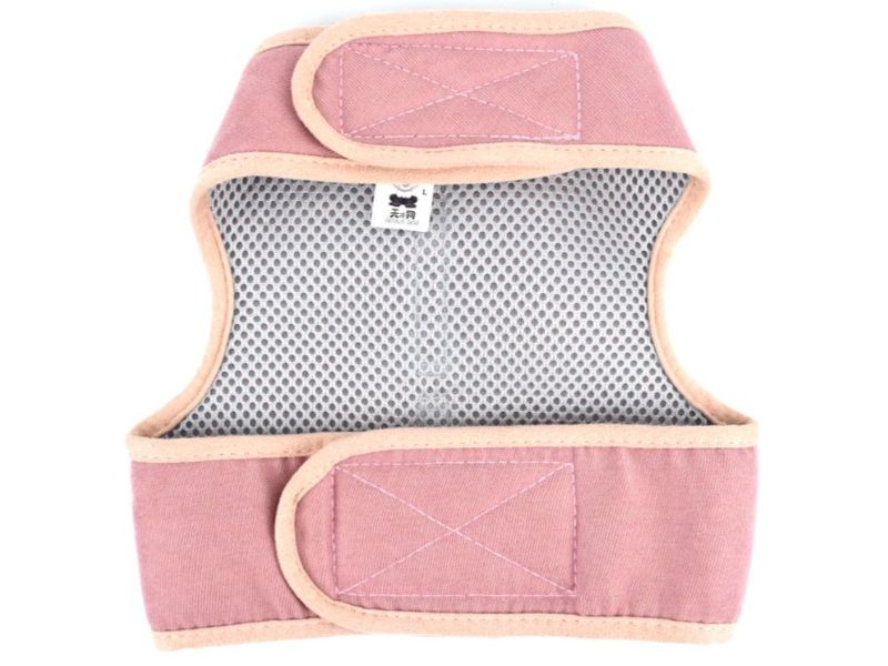 Beige Luxury Soft Mesh Cat Harness