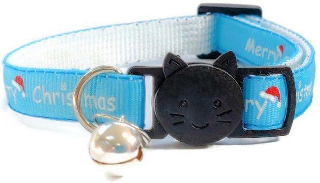 Christmas Collar – Blue with &#821...