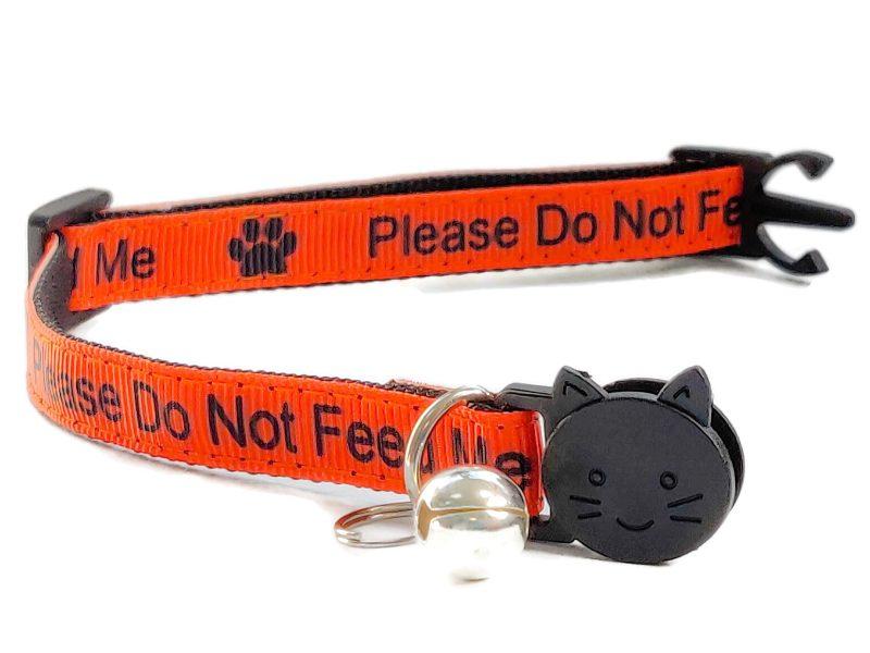'Please Do Not Feed Me' Collar (O...