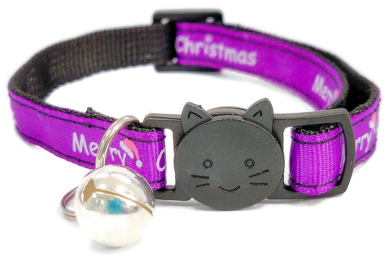 Christmas Collar – Purple with &#8...