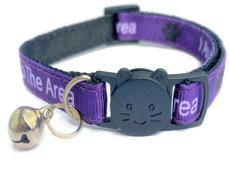 'I Am New To The Area' Cat Collar...